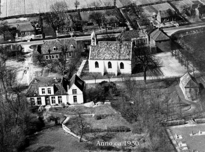 Luchtfoto +/- 1950
